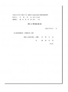 控訴第2準備書面(地盤問題)