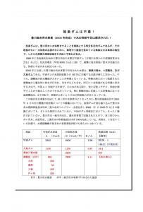 設楽ダムは不要~豊川総合用水事業_参考_水利使用規則